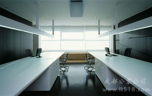 高端老总办公室装修设计布局方案解析