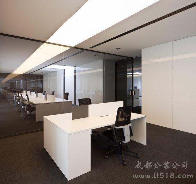 成都现代办公室装修风格哪家工装装修公