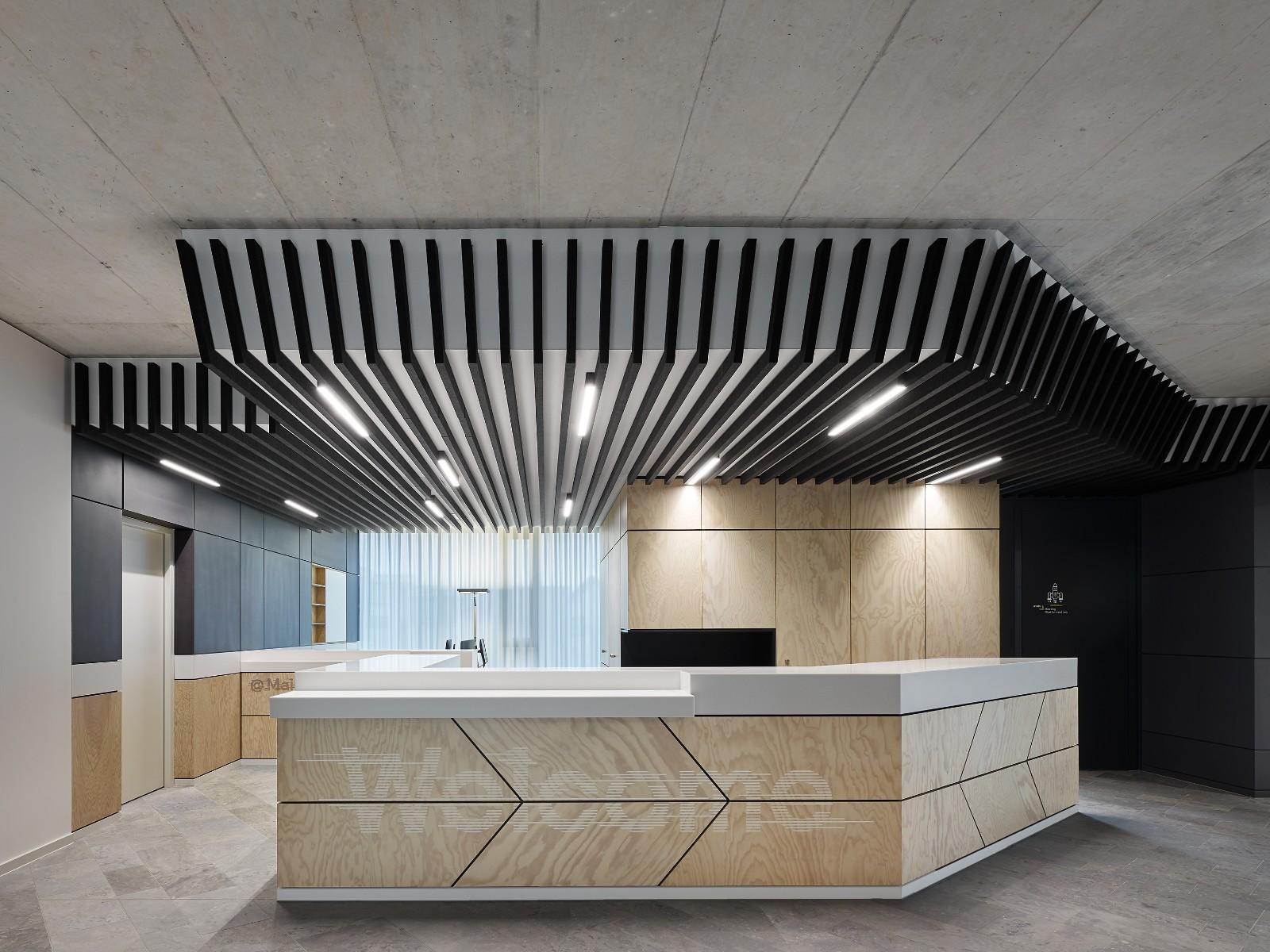 简约大气办公室装修设计效果图
