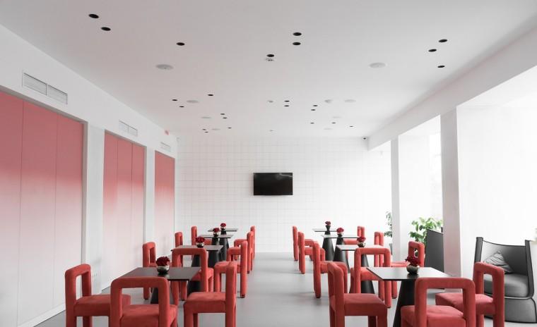 教育培训机构装修背景墙效果图设计大全