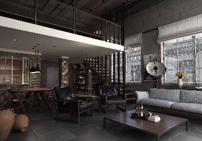 loft办公空间装修的四个设计要点