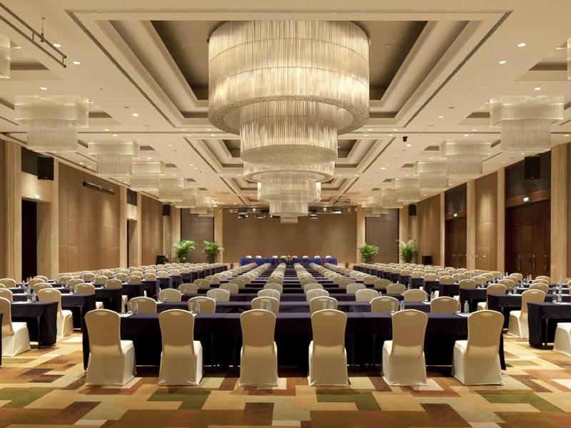 成都商务酒店会议厅装修设计布置方案