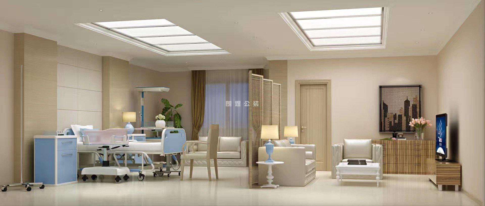 高端妇产医院手术室设计装修效果图