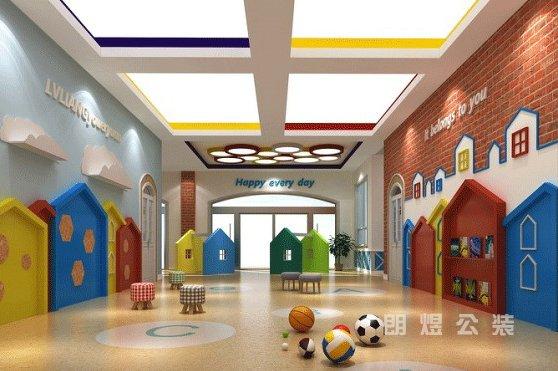 幼儿园装修中墙面作用与设计技巧