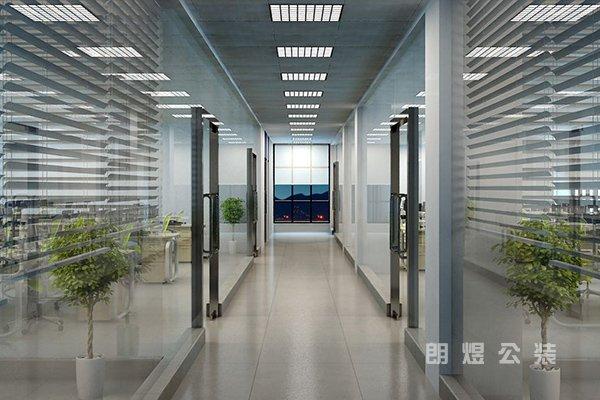 办公室装修玻璃隔断挑选方法以及安装注