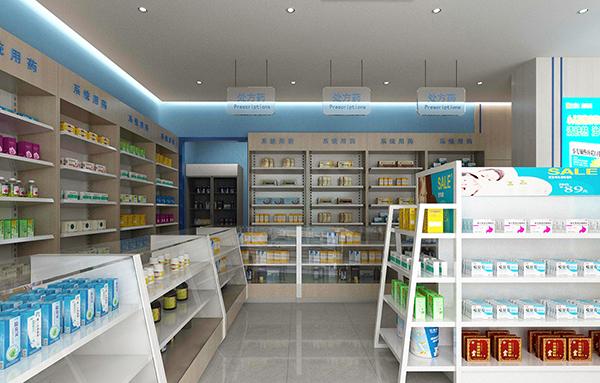最新成都大药房装修设计方法介绍