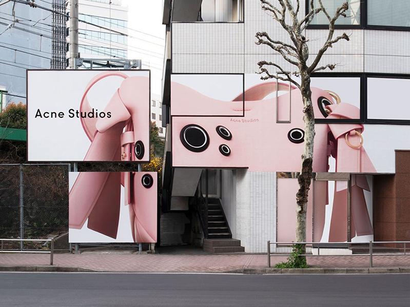 设计感超强的时装店装修效果图