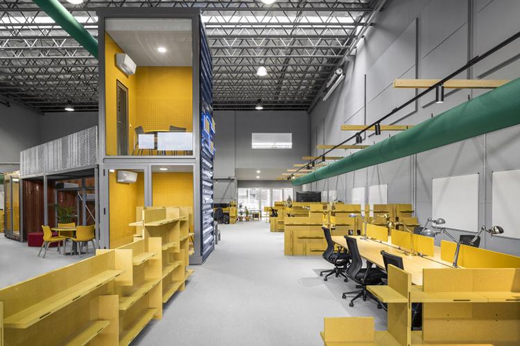 650平厂房办公室装修实景案例鉴赏