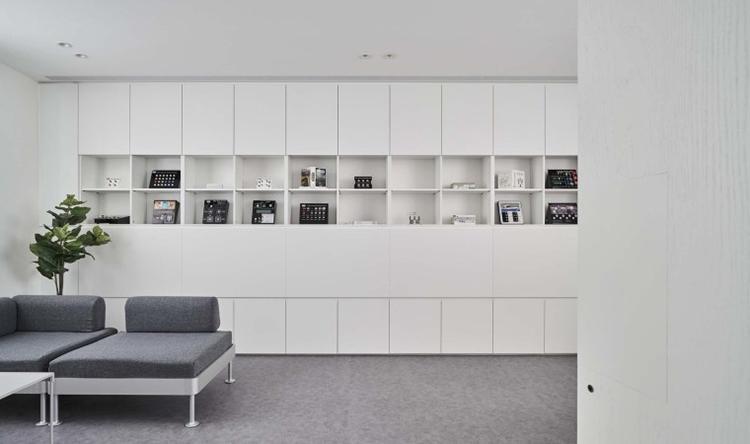 打造高级灰品质办公空间装修方案