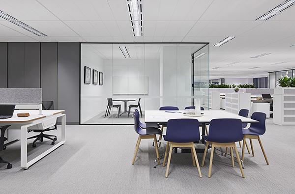1000平写字间办公室装修设计图大盘点