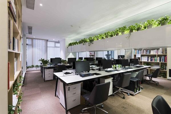 办公楼办公室设计协调性、提升空间档次