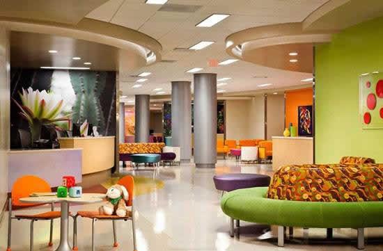 优秀的国外儿童医院设计理念学习