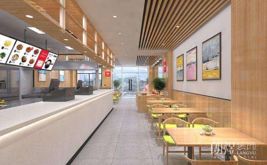 快餐店怎样装修设计能吸引顾客?