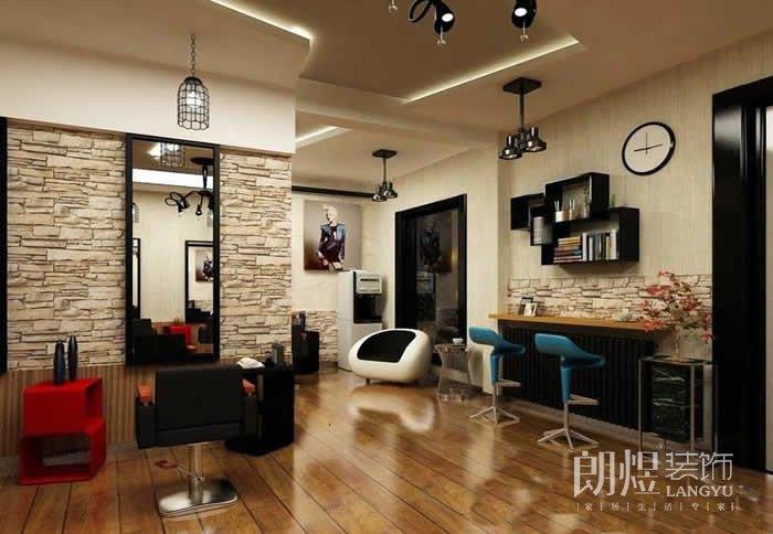 40平米理发店装修设计风格 开理发店需要