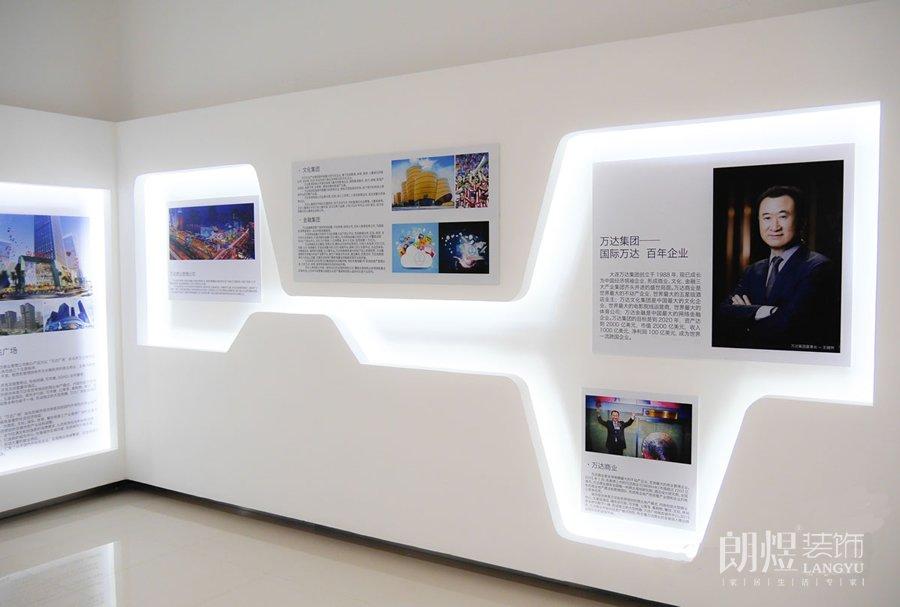 办公室文化墙装修设计+效果图