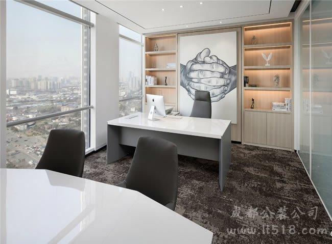 现代简约风办公室装修设计的要点